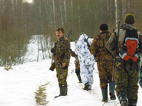 Разговор  озагонной охоте