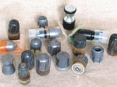 Пули для гладких стволов  с дульными сужениями